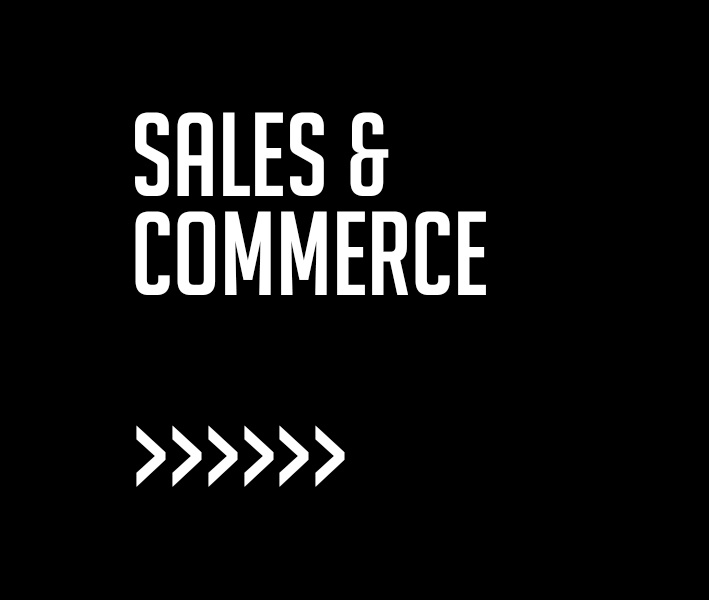Sales & Commerce - Always in business!